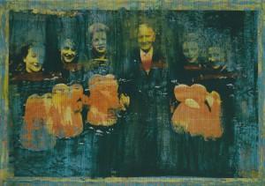 """Ausschnitt aus dem Bild """"Jubiläum 1955/1996"""""""